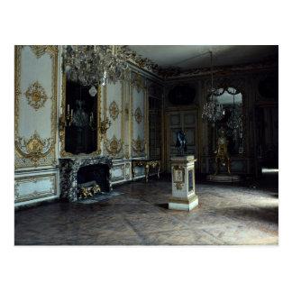 Cartão Postal Palácio de Versalhes, a sala de estar do pulso de