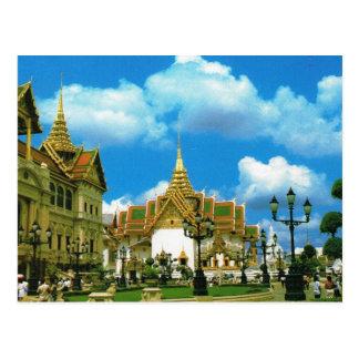 Cartão Postal Palácio grande de Tailândia, Banguecoque