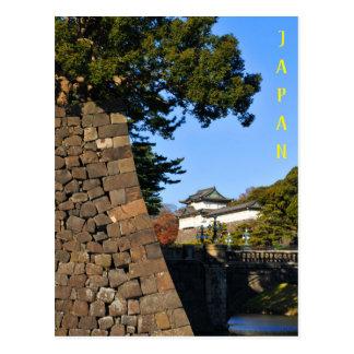 Cartão Postal Palácio imperial em Tokyo, Japão