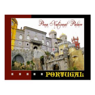 Cartão Postal Palácio nacional de Pena, Sintra, Portugal