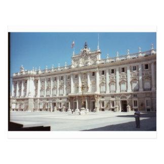Cartão Postal Palacio real, Madrid