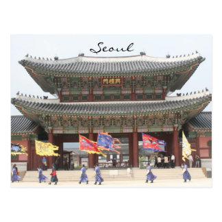 Cartão Postal palácio seoul
