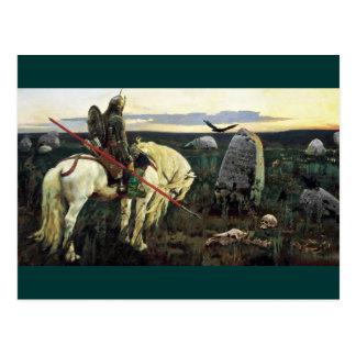 Cartão Postal Palavras cruzadas de Viking