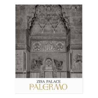 Cartão Postal Palermo - palácio de Zisa