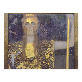 Cartão Postal Pallas Athena