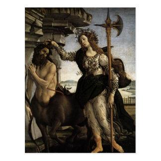 Cartão Postal Pallas e o centauro