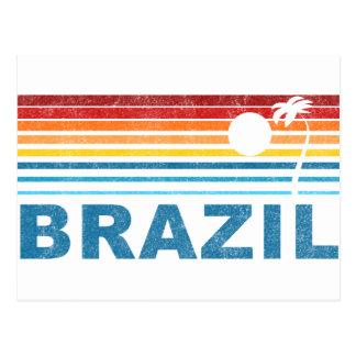 Cartão Postal Palmeira Brasil