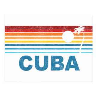 Cartão Postal Palmeira Cuba