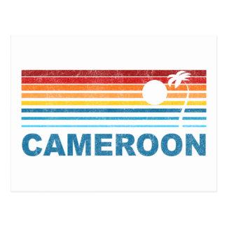 Cartão Postal Palmeira República dos Camarões