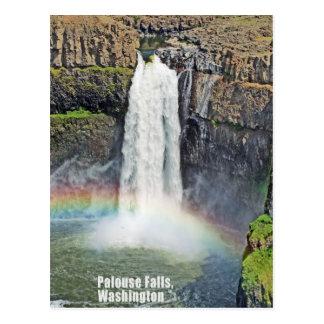 Cartão Postal Palouse cai parque estadual, Washington