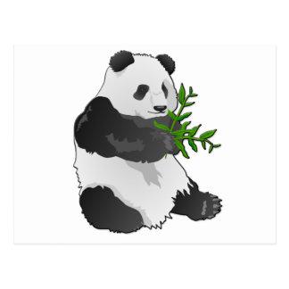 Cartão Postal Panda