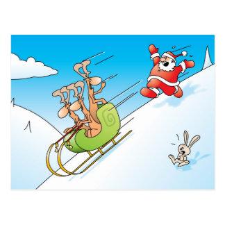 Cartão Postal Pânico do Natal