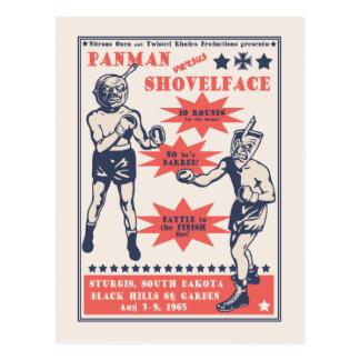 Cartão Postal Panman v. Shovelface