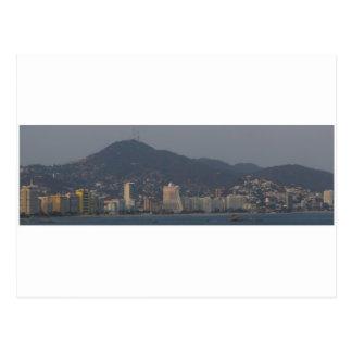 Cartão Postal Panorama 6 de Acapulco