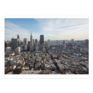 Cartão Postal Panorama da skyline de San Francisco