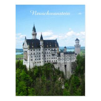 Cartão Postal Panorama de Neuschwanstein