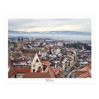 Cartão Postal Panorama de Sibiu