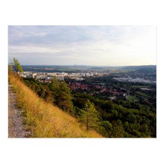 Cartão Postal Panorama em Jena Lobeda