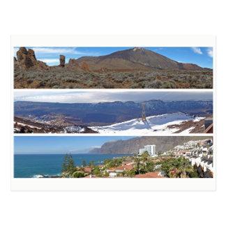 Cartão Postal Panoramas de Tenerife