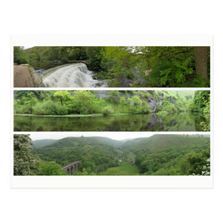 Cartão Postal Panoramas máximos da paisagem do distrito