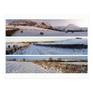 Cartão Postal Panoramas nevado do distrito máximo