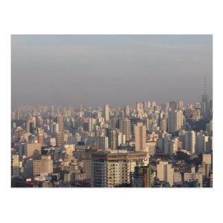 Cartão Postal Panorâmico aéreo - Sao Paulo