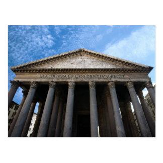Cartão Postal panteão em Roma