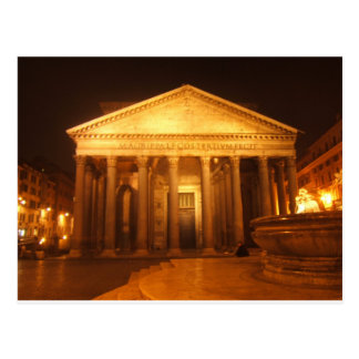 Cartão Postal Panteão na noite