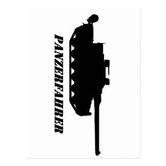 Cartão Postal panzerfahrer