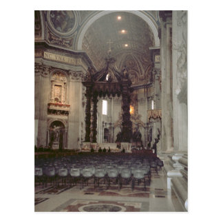 Cartão Postal Papa João Paulo II na galeria em St Peter