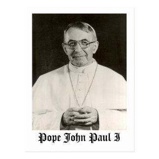 Cartão Postal Papa John Paul mim