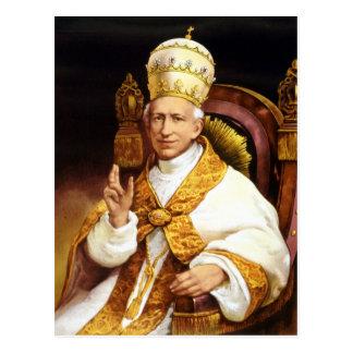 Cartão Postal Papa Leo XIII