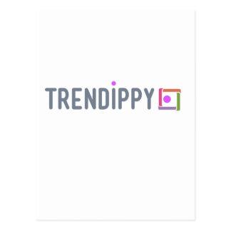 Cartão Postal Papel de Trendippy