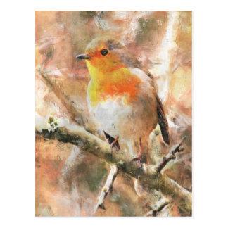 Cartão Postal Papo-roxo