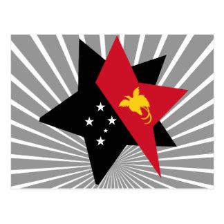 Cartão Postal Papua+Novo+Estrela da Guiné