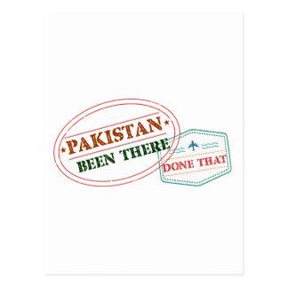 Cartão Postal Paquistão feito lá isso