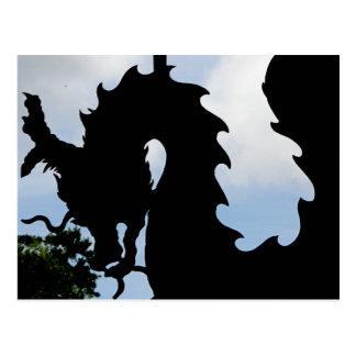 Cartão Postal Para dragões
