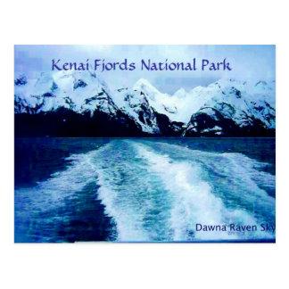 Cartão Postal Para fora na baía