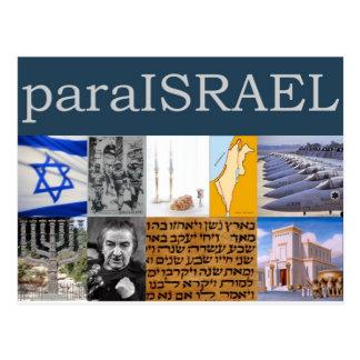 Cartão Postal Para Israel