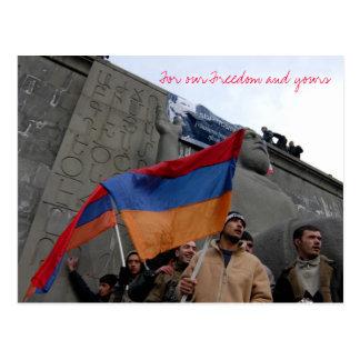 Cartão Postal Para nossa liberdade e sua