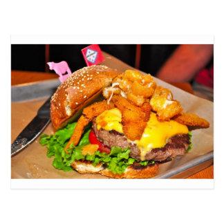 Cartão Postal Para o amante do hamburguer em sua vida
