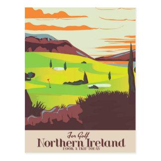 """Cartão Postal """"Para poster de viagens de Irlanda do Norte do"""