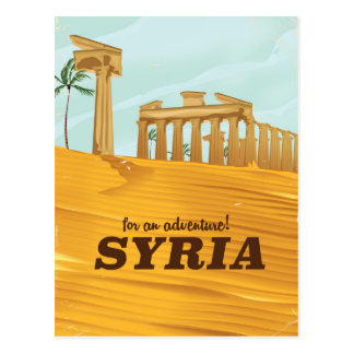 Cartão Postal Para uma aventura! Templo de Syria do Bel