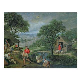 Cartão Postal Parábola do bom pastor, c.1580-90