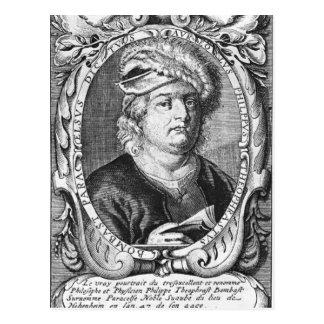 Cartão Postal Paracelse 1540