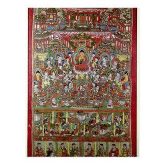 Cartão Postal Paraíso de Amitabha