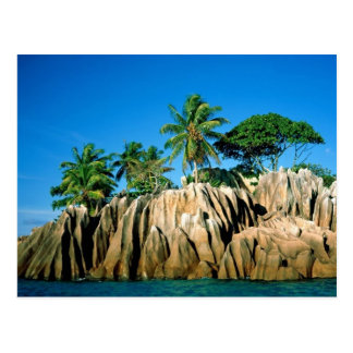 Cartão Postal Paraíso encontrado, Seychelle