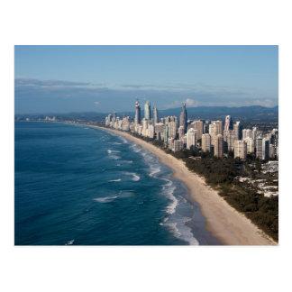 Cartão Postal Paraíso Gold Coast Queensland Austrália dos