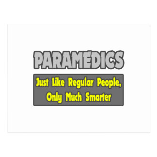 Cartão Postal Paramédicos… mais espertos