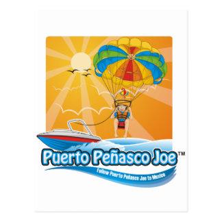 Cartão Postal Parasailing em México